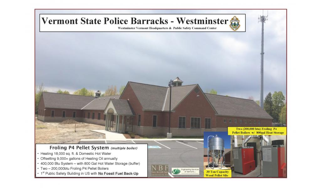 Vermont State Police - Westminster VT. Barracks,